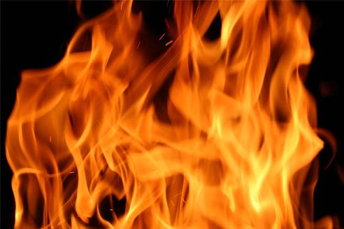 e quando queima me sinto viva
