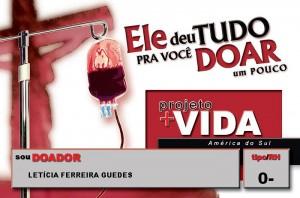 3- Doar Sangue