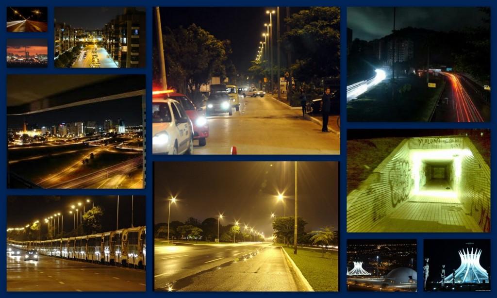 10 - Andar por Brasília de madrugada
